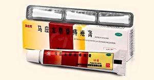 Китайская мускусная красная мазь от геморроя