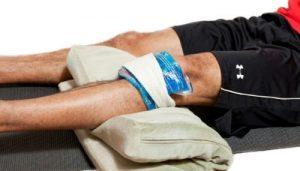 Травма колена — при падении, лечение