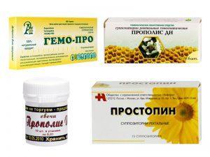 Эффективные свечи от простатита — список препаратов