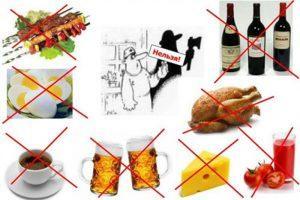 Диета при простатите у мужчин: что можно, а что нельзя кушать при воспалени простаты
