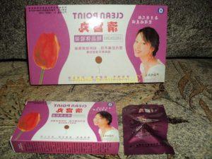 китайские женские тампоны