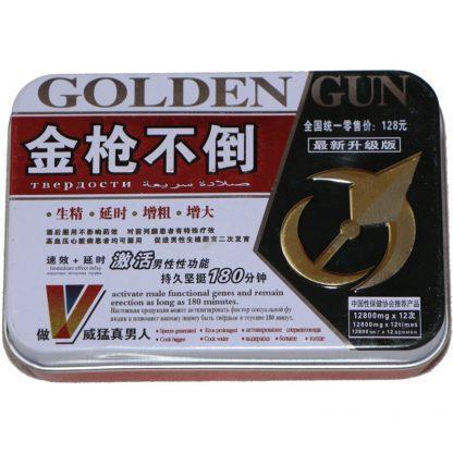 Таблетки для эрекции Golden Gun