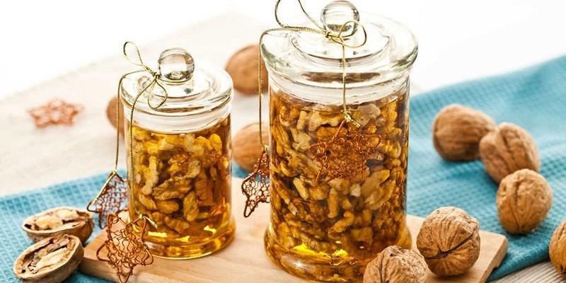 Мёд с орехами для мужчин