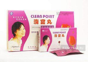 Clean Point лечебно-профилактические тампоны